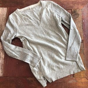 Rebecca Taylor | Wool & Cashmere Zip Side Sweater